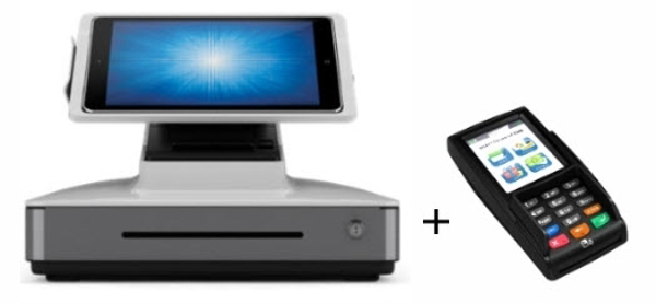 ELO PayPoint For IPAD + PAX S300